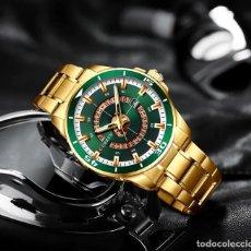 Relojes: RELOJ DE HOMBRE CON CALENDARIO GIRATORIO.. Lote 200812090
