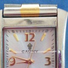 Relojes: RELOJ DE PULSERA MARCA CAUNY MADE IN SWISS. Lote 201595932