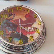 Relojes: RELOJ DE PARED DE SUPERMAN DC COMICS (S06). Lote 202561962