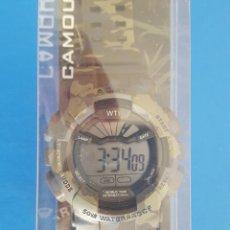 Relojes: RELOJ WTI WORLD TIME INTERNATIONAL SERIE: MILITARY EDITION II MODELO: CAMOUFLAGE. Lote 202587498