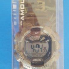 Relojes: RELOJ WTI WORLD TIME INTERNATIONAL SERIE: MILITARY EDITION II MODELO: CAMOUFLAGE. Lote 202587632