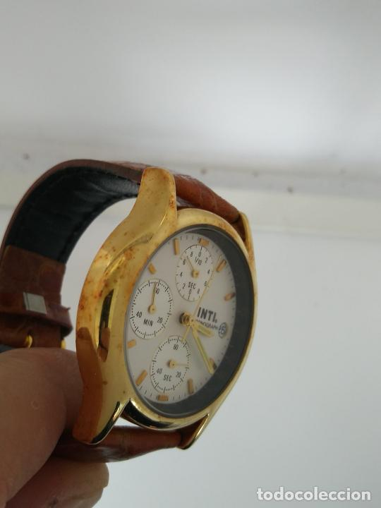 Relojes: Reloj INTI chronograph nuevo a estrenar esfera 4 mm - Foto 3 - 202771720