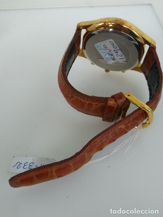 Relojes: Reloj INTI chronograph nuevo a estrenar esfera 4 mm - Foto 4 - 202771720