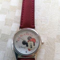 Relojes: RELOJ PUBLICIDAD PLANETA AGOSTINI MICKEY MOUSE. Lote 202875670