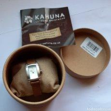 Relojes: KAHUANA EXTREME WRISTEAR KLS.0071L . 22 CENTÍMETROS DE LONGITUD. 23.70 GRAMOS DE PESÓ. NUEVO. Lote 203143286