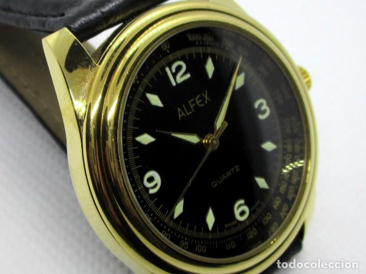 Relojes: ALFEX de CUARZO SUIZO AÑOS 90 - Foto 2 - 203894791