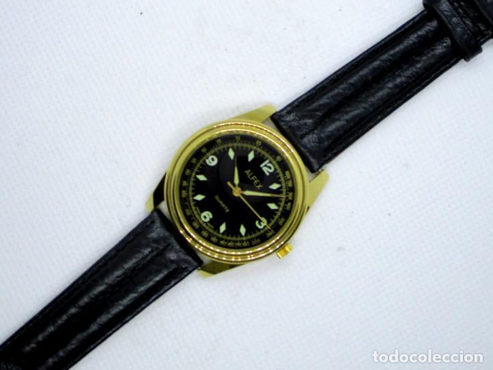 Relojes: ALFEX de CUARZO SUIZO AÑOS 90 - Foto 3 - 203894791