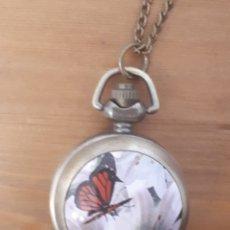 Relojes: RELOJ DE BOLSILLO O PARA COLGAR CON CADENA (INCLUÍDA). Lote 204238205