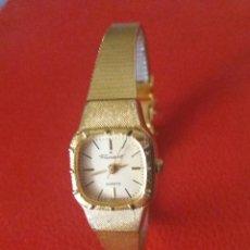 Relojes: RELOJ PRESIDENT QUARZ CHAPADO ORO, COMO NUEVO.. Lote 204255965