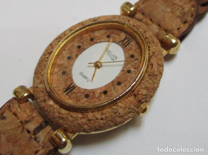 DELAN DE CUARZO,Y DE CORCHO AÑO 1.992 (Relojes - Relojes Actuales - Otros)