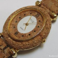 Relojes: DELAN DE CUARZO,Y DE CORCHO AÑO 1.992. Lote 204596356
