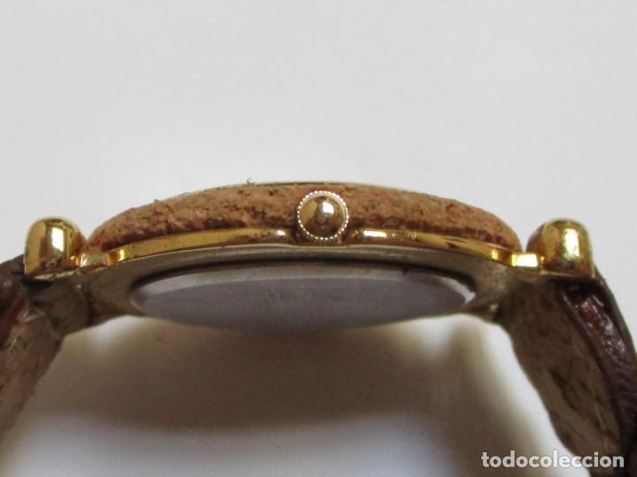 Relojes: DELAN DE CUARZO,Y DE CORCHO AÑO 1.992 - Foto 3 - 204596356