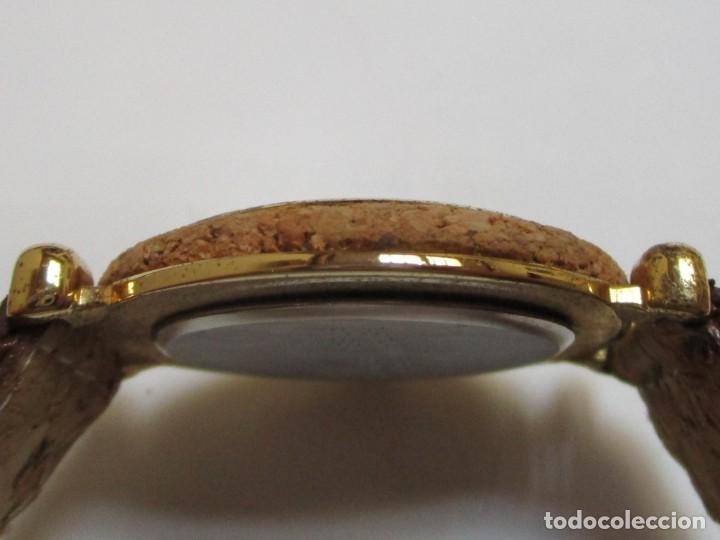 Relojes: DELAN DE CUARZO,Y DE CORCHO AÑO 1.992 - Foto 4 - 204596356