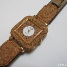 Relojes: DELAN DE CUARZO,Y DE CORCHO AÑO 1.992. Lote 204597516