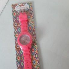 Relojes: RELOJ FUCSIA. Lote 204837993