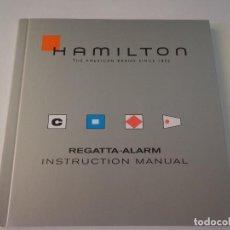 Relojes: HAMILTON KHAKI -MANUAL DE INSTRUCCIONES-POSIBILIDAD DE CAJA ORIGINAL. Lote 205010422