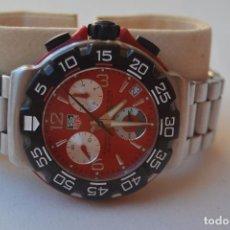 Relojes: RELOJ TAG HEUR FORMULA ONE ROJO. Lote 205597156