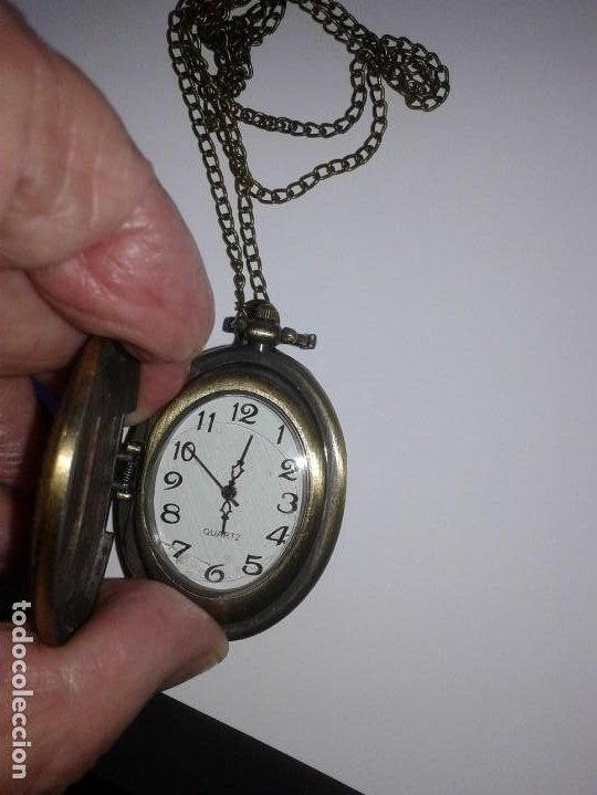 RELOJ OVALADO DE COLLAR O BOLSILLO (Relojes - Relojes Actuales - Otros)