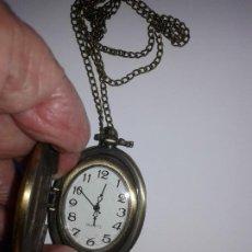 Relojes: RELOJ OVALADO DE COLLAR O BOLSILLO. Lote 205839638