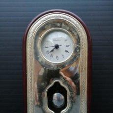Relojes: RELOJ DE PÉNDULO MARCA VALENDI & CO. CON EL FRONTAL DE PLATA. Lote 205866035