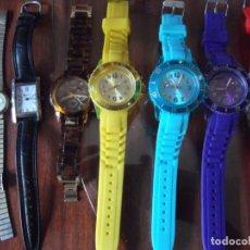 Relojes: LOTE DE RELOJES SIN CATALOGAR MUCHOS DE ELLOS NUEVOS !. Lote 206211496