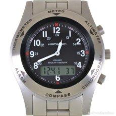 Relojes: HAMILTON KHAKI MULTI-TOUCH. Lote 206329853
