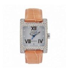 Relojes: RELOJ LOCMAN SEÑORA ACERO Y DIAMANTES. Lote 206356203