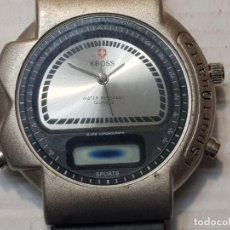 Relojes: RELOJ DIGITAL ANALOGICO KROSS N.D.LIMITS. Lote 206515101
