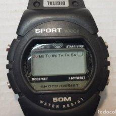 Relojes: RELOJ DIGITAL FERRARI CAPRI SPORT WATCH 1984. Lote 206515698