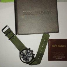 Relojes: RELOJ MARK MADDOX CON SU GARANTÍA AÚN Y SU CAJA. VER FOTOS. Lote 206578367