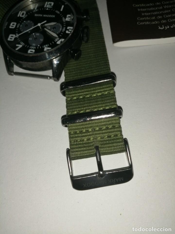 Relojes: Reloj Mark Maddox con su garantía aún y su caja. Ver fotos - Foto 2 - 206578367