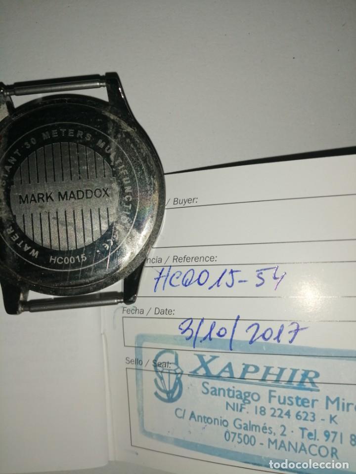Relojes: Reloj Mark Maddox con su garantía aún y su caja. Ver fotos - Foto 3 - 206578367