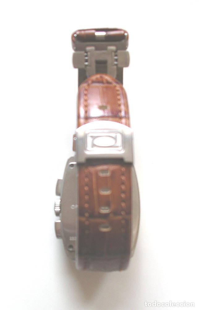 Relojes: Officina del Tempo Reloj, calendario, como nuevo funciona. Med. 3,40 cm sin contar corona - Foto 3 - 206975278
