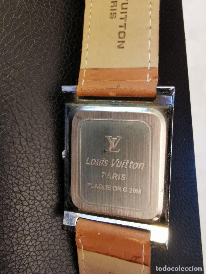 Relojes: RELOJ DE QUARTZ LOUIS VUITON PARIS FUNCIONANDO - Foto 4 - 207649591