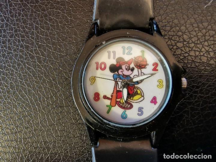 DIVERTIDO RELOJ MICKEY MOUSE - MICHELLI - WALT DISNEY QUARTZ VINTAGE COLECCION. FUNCIONANDO (Relojes - Relojes Actuales - Otros)