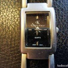Relojes: RELOJ DE SEÑORA MADE IN USA CALVIN KLEY TODO METALICO FUNCIONANDO. Lote 207655536