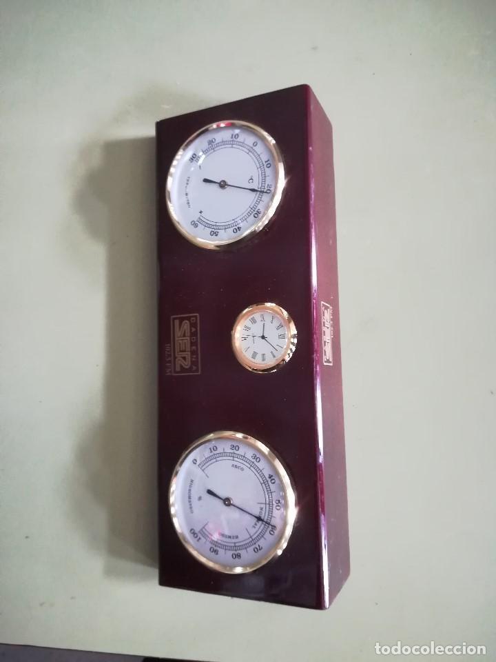 Relojes: RELOJ, HIGROMETRO Y TERMOMETRO. CADENA SER - Foto 2 - 207721616