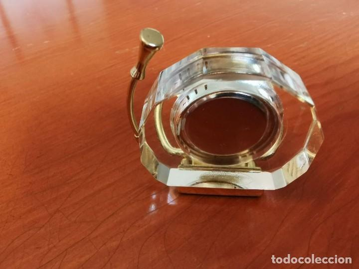 Relojes: RELOJ EN FORMA DE TUBA DE COLECCION EN MINIATURA LE TEMPS - Foto 3 - 207758980