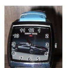 Orologi: RELOJ WATCH MONTRE EL COCHE FANTASTICO (KNIGHT RIDER - K2000) (MODEL 1) (COLOR AZUL). Lote 207898785