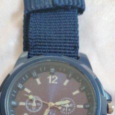 Relojes: RELOJ DE PULSERA COLOR NEGRO FUNCIONANDO A PILA. Lote 207972933