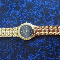 Relojes: PRECIOSO RELOJ WESTAIR NEGRO CHAPADO MUY BRILLANTE. 33 MM. Lote 208042061
