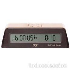 Relojes: CHESS. RELOJ DIGITAL DE AJEDREZ DGT 1002 CON INCREMENTOS DE TIEMPOS. Lote 208095877