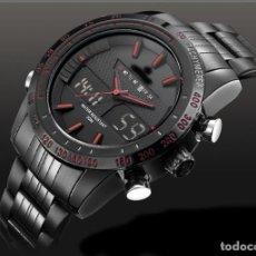 Relojes: RELOJ DUAL TIME CRONOGRAFO NUEVO. Lote 208164085