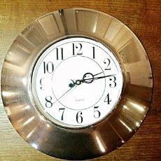 Relojes: GRAN RELOJ DE COCINA ACERO INOXIDABLE. AÑOS 90. Lote 208179226