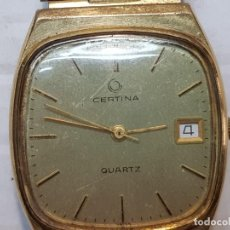 Relojes: RELOJ CERTINA QUARZO SERIE 711 CABALLERO FUNCIONANDO. Lote 208761241