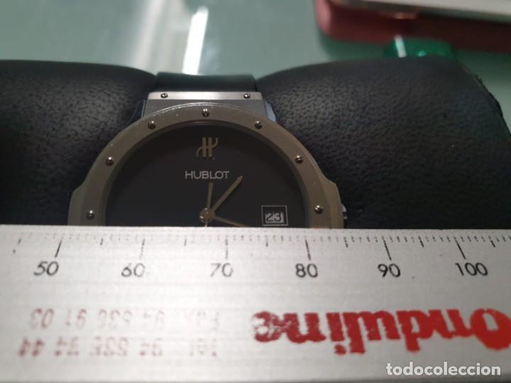 Relojes: Reloj Hublot Classic Hombre/Unisex Correa Caucho 2004 Excelente Estado - Foto 16 - 200295836