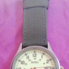 Relojes: RELOJ DE PULSERA MARCA SOKI. Lote 209596670
