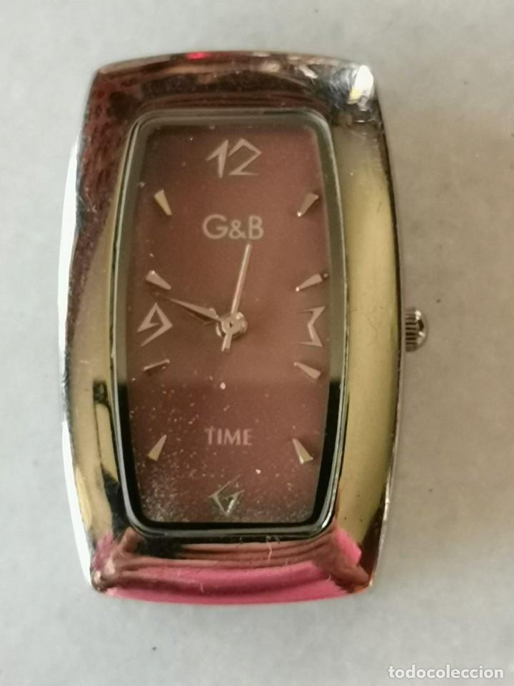 RELOJ DE PULSERA MARCA G&G TIME QUARTZ FUNCIONANDO (Relojes - Relojes Actuales - Otros)