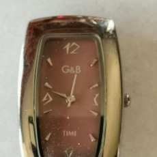 Relojes: RELOJ DE PULSERA MARCA G&G TIME QUARTZ FUNCIONANDO. Lote 209648597