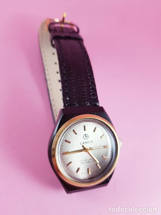 Relojes: ANTIGUO RELOJ-SUIZO-LANCO-FUNCIONANDO PERFECTAMENTE-VER FOTOS. - Foto 19 - 53557518